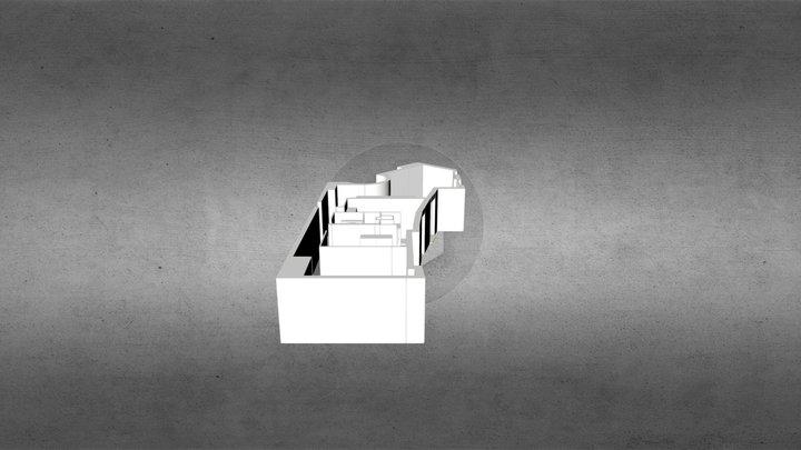 3D flat 3D Model