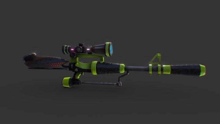 【Splatoon】Hero Scope Replica 3D Model