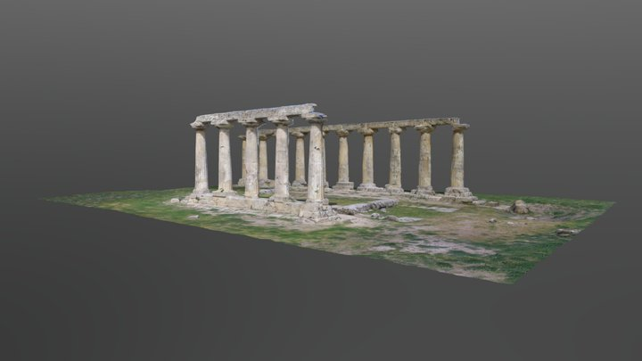 METAPONTO - Tavole Palatine 3D Model