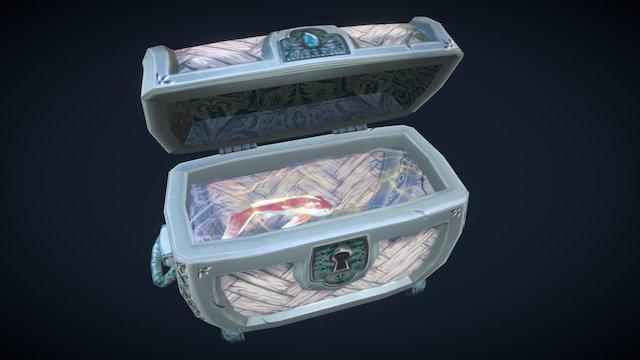 Koi Chest 3D Model