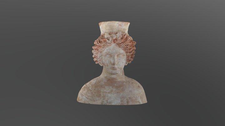 Bust Tanit-Demeter MAEF1796_Puig des Molins 3D Model