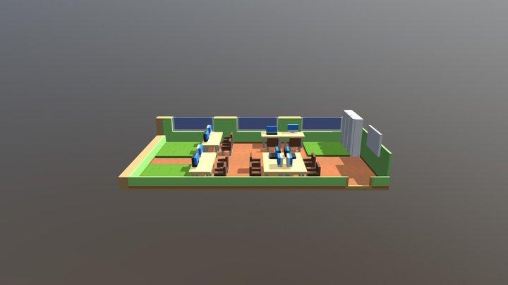 Проектная зона 3D Model