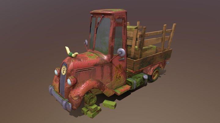 DP #2 HW 18 [Pickup texture] 3D Model