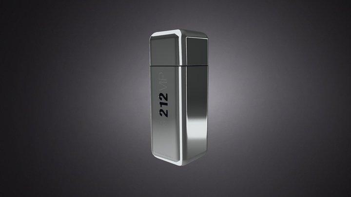 212 VIP MEN 3D Model