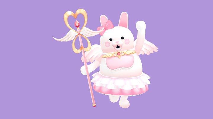 Magical Girl Miracle ★ Usami 3D Model