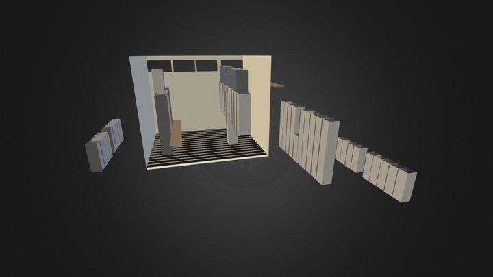 raum_kabine_schwanken_03 3D Model