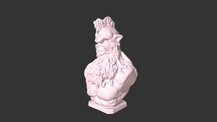 Miniature Figurine 3D Model