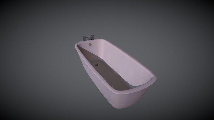a bathtube 3D Model