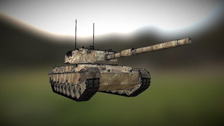 Leopard AS1 3D Model