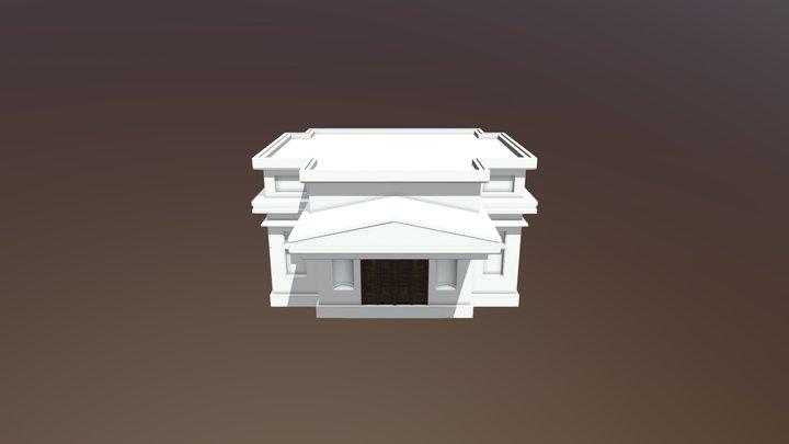 Building Main 3D Model