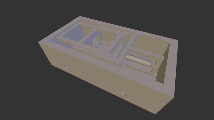 Pop Up 3D Model