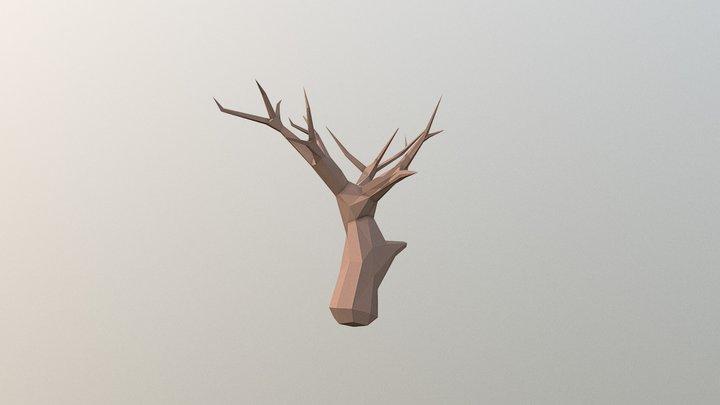 Low Poly Dead Tree 3D Model