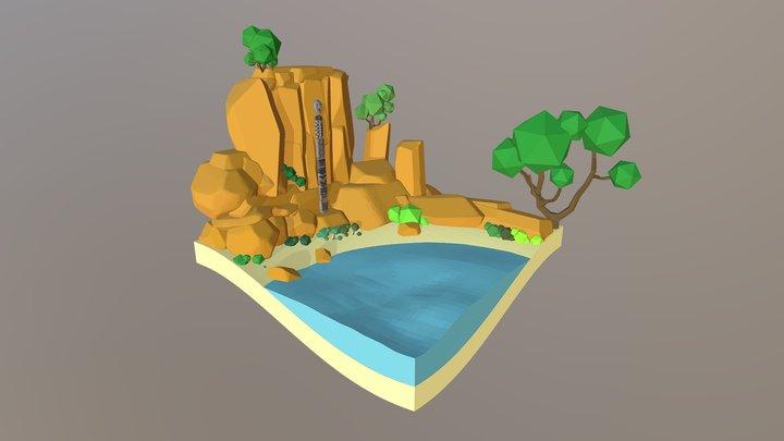 Reinterpretación del Ídolo De Shigir 3D Model