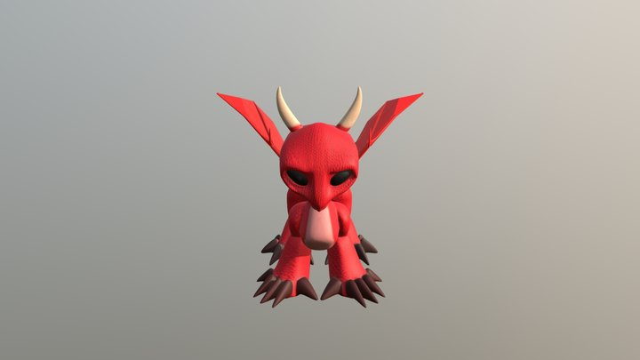 Draco 3D Model