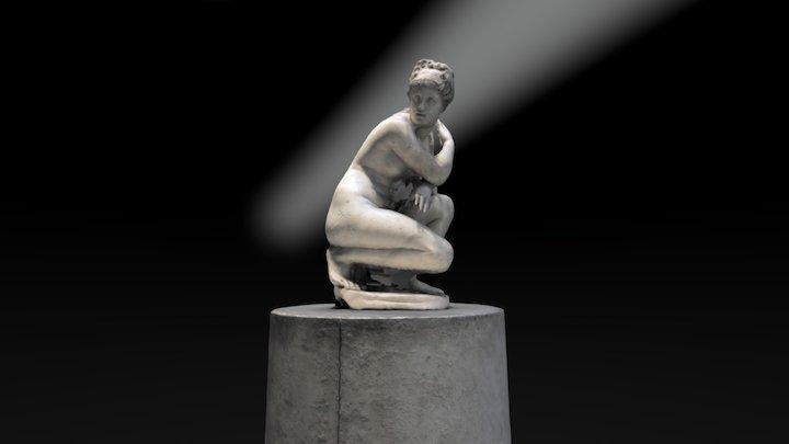 Aphrodite Crouching, British Museum 3D Model