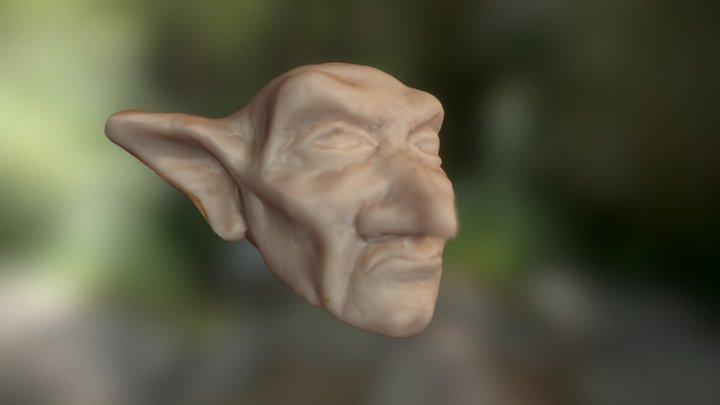 Clay Goblin 3D Model