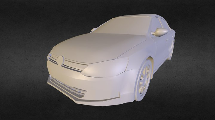 Volkswagen Jetta MK VI 3D Model