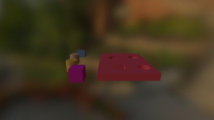Copy Of Puzzle 1 3D Model