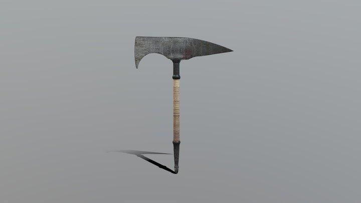 Sagaris Battle Axe 3D Model