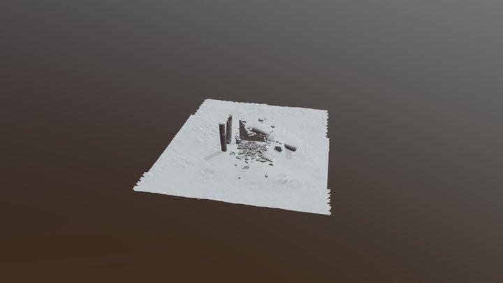 Pile Rubble 3D Model