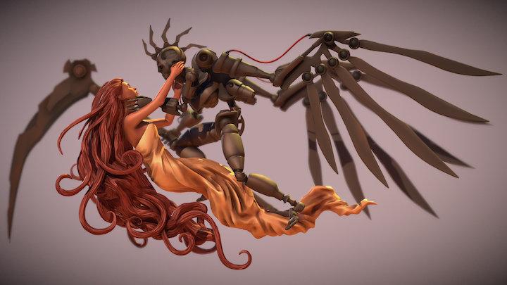 Reaper Scene 3D Model