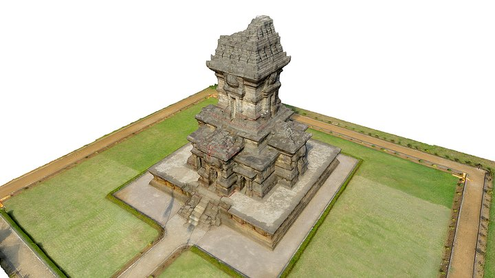 Candi Singosari 3D Model