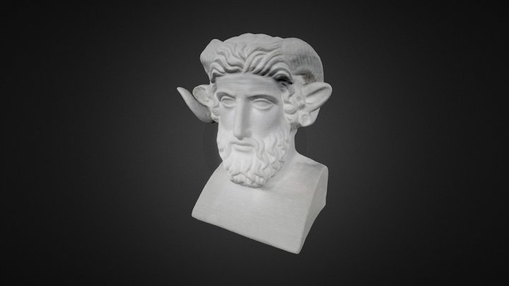 Jupiter ammon - photogrammetry 3D Model