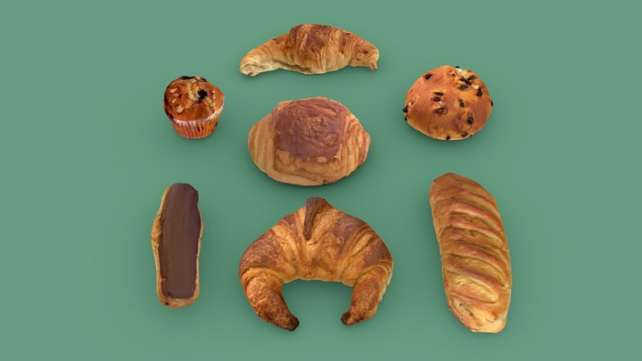 PACK — FROM THE BAKERY 3D Model