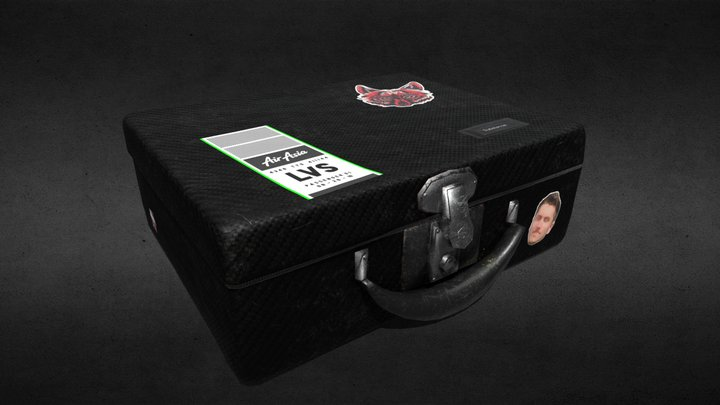 The Traveling Suitcase 3D Model