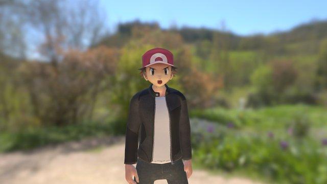 Ash Ketchum 3D Model