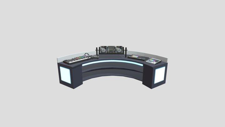 DJ RoomV01 3D Model