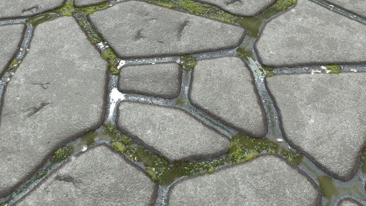 Stone ground 3D Model