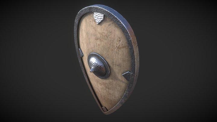 Old Shield 3D Model