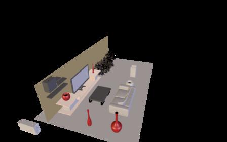 Studio V6 3D Model
