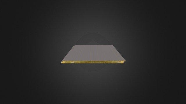 Taşyünü Dolgulu Akustik Cephe Paneli 3D Model