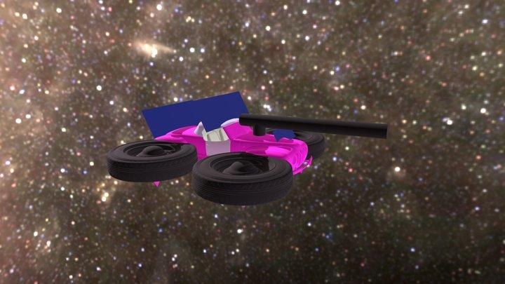 20180316 Space Car 3D Model