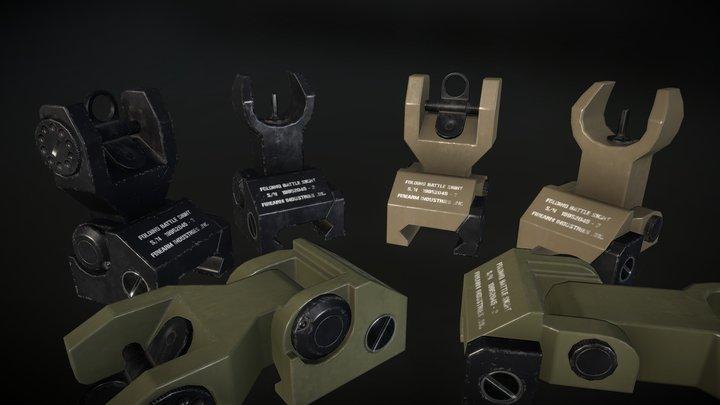 Iron Sight (FREE) 3D Model