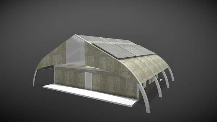Flex FX Small Building System 3D Model