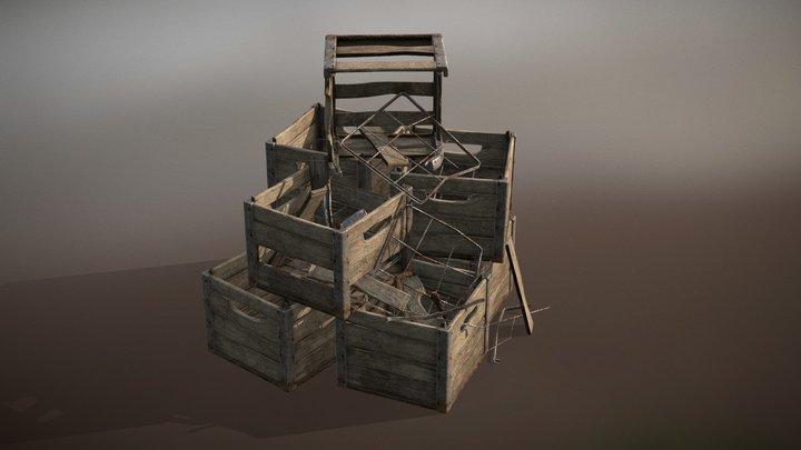 Transport Crate 3D Model