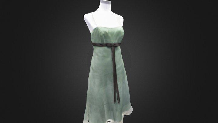 Green Dress 3D Model