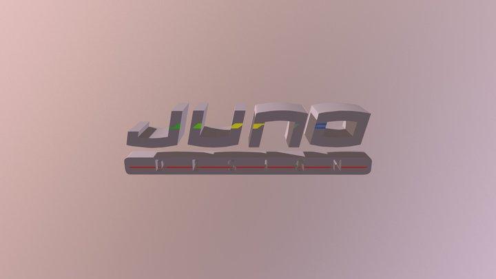 J 3D Model