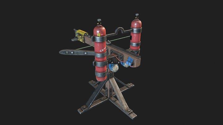 Ballista - Rust Fan Art 3D Model