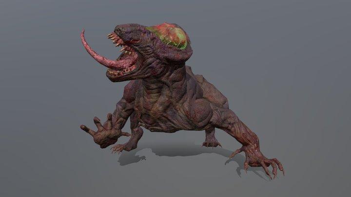 Bio Hound 3D Model