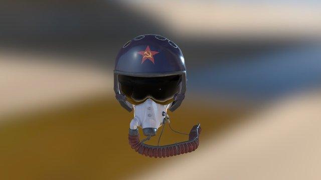 PBR ZSH-710 helmet 3D Model