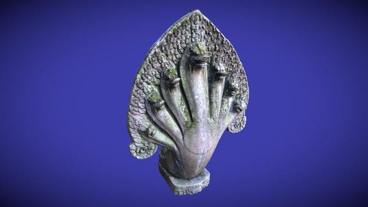 Pont Khmer (details) 3D Model