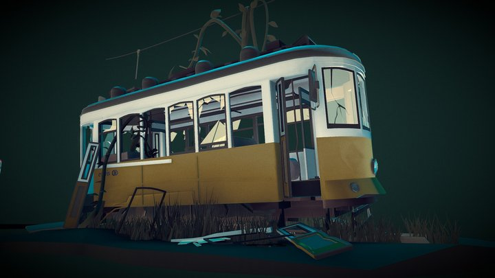 Homework_trams_2.0 3D Model