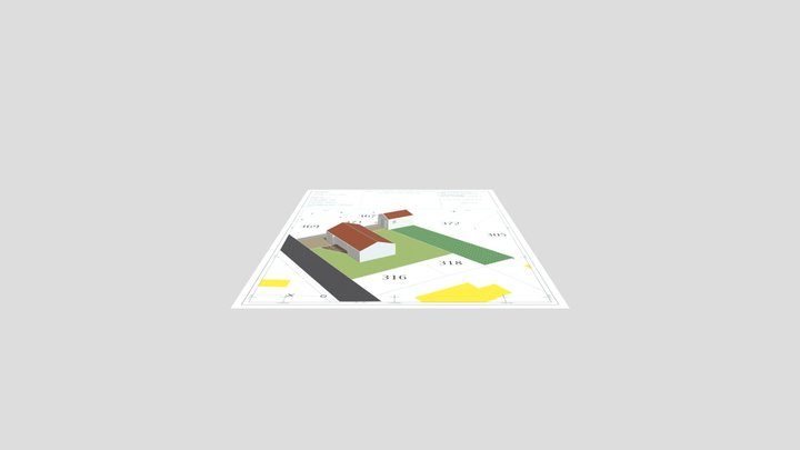 Construction d'un Garage - 79430 3D Model