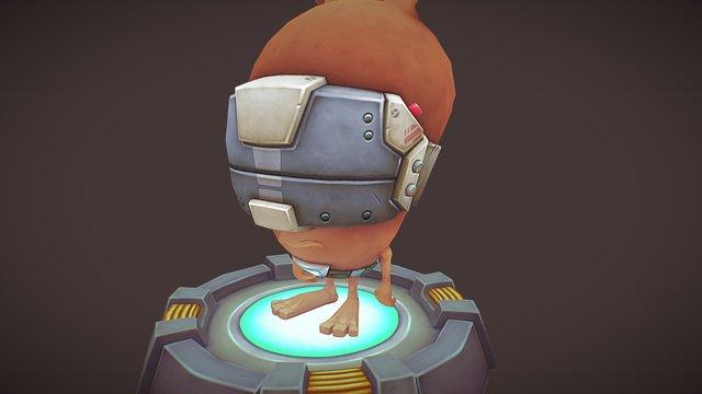 Marci VR 3D Model