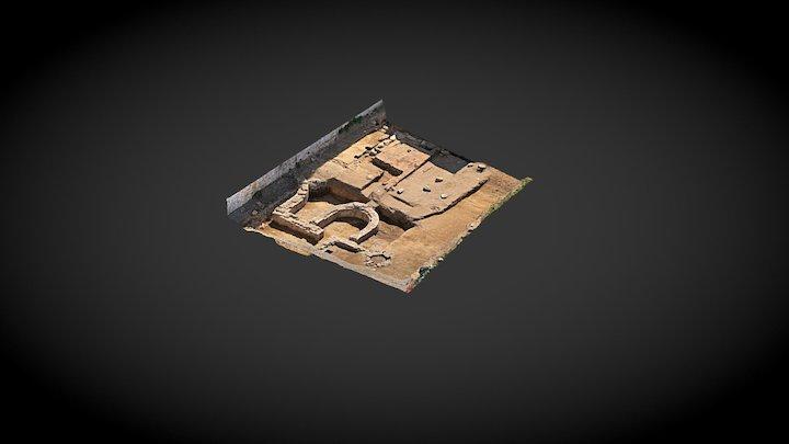 Inrap, Vannes 3D Model