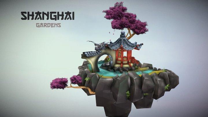 Shanghai Gardens 3D Model